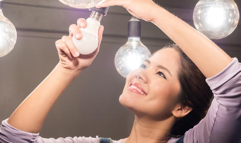 LEDs sind in der Anschaffung teurer, verbrauchen aber deutlich weniger Energie.