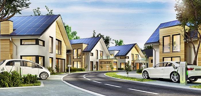 KfW 55 Förderung Neubau: Staat unterstützt bei energetischem Bau ( Foto: Shutterstock-_Slavun )